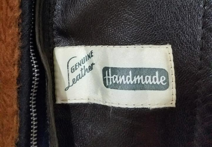 Leather Coat Tag