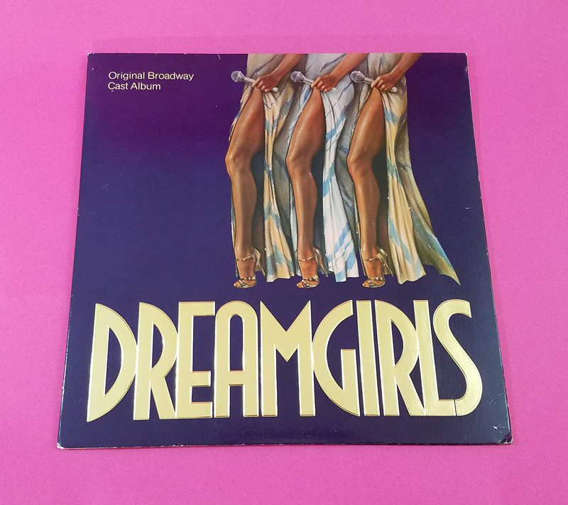 Dreamgirls Vinyl Album Cover