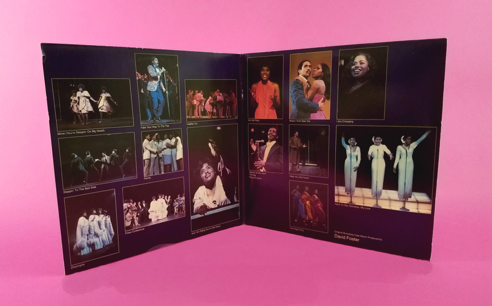 Dreamgirls Vinyl Album Inside Detail