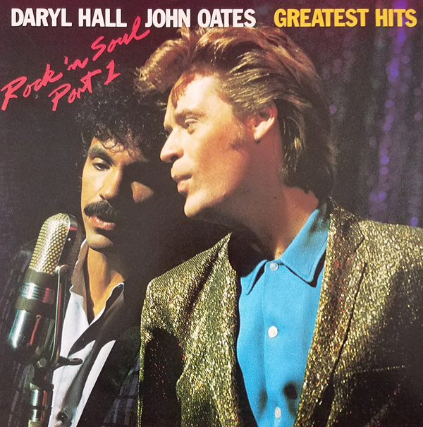 Hall & Oates Rock 'N Soul Vinyl Album Cover