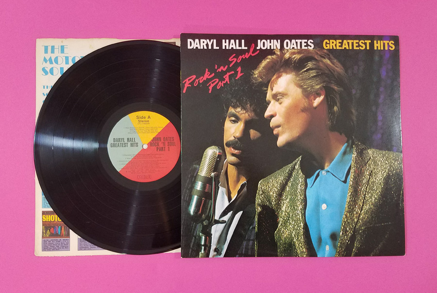 Hall & Oates Rock 'N Soul Vinyl Album Cover and Record